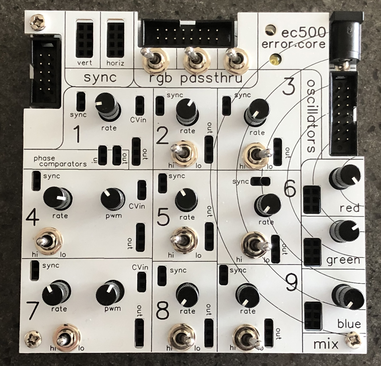 ec500 error.core (prebuilt device)