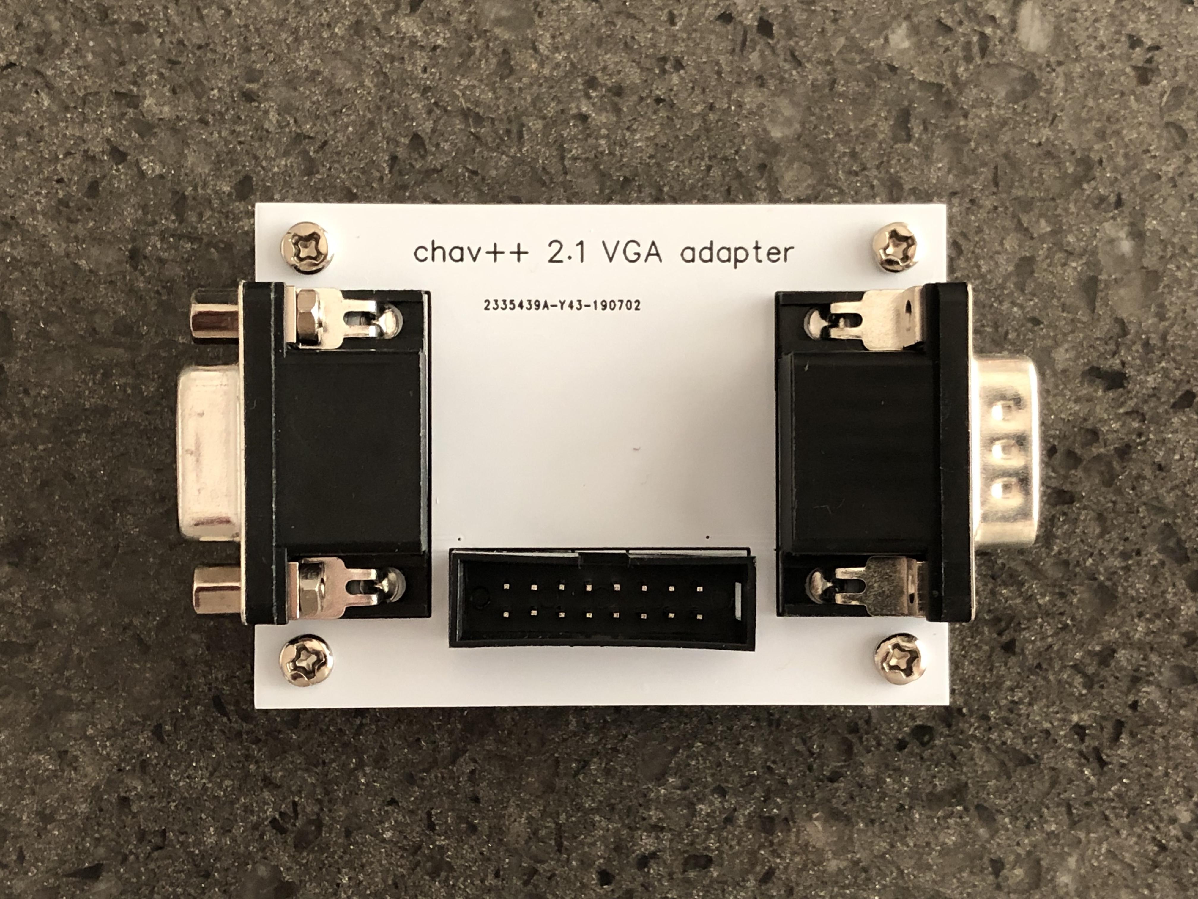 ec500 VGA adapter (prebuilt device)